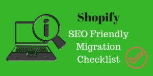 shopify migration checklist
